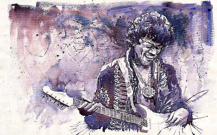 Jazz Rock Jimi Hendrix 03