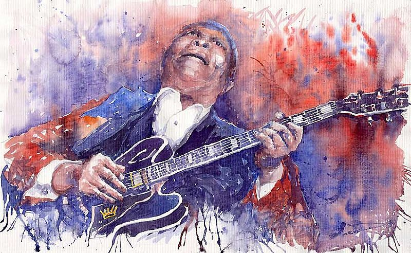 Jazz B B King 05 Red
