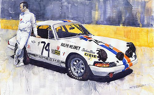 Porsche 911 Sebring 1970 Ralf Meaney