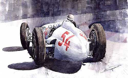 Manfred von Brauchitsch,Mercedes-Benz W154 at Livorno-Montenero Coppa Ciano 1938