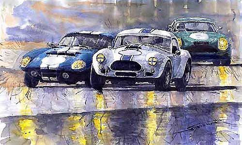 1965 Duel AC Cobra and Shelby Daytona Coupe