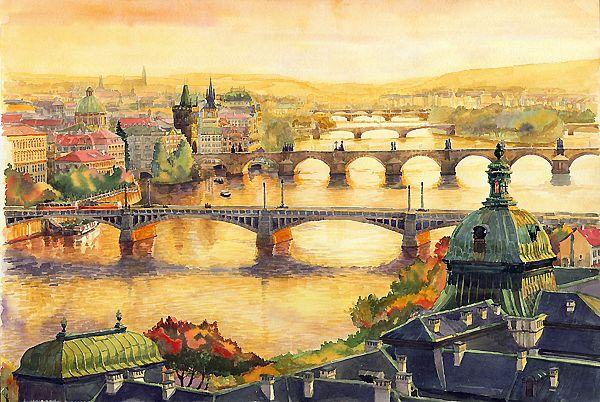 Мост картины