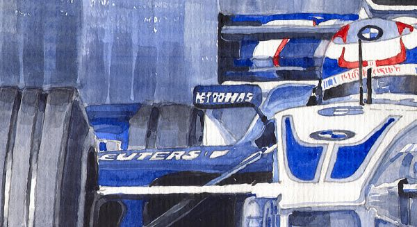 Williams BMW FW24 2002 Juan Pablo Montoya