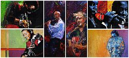 Oil Jazz Paintings