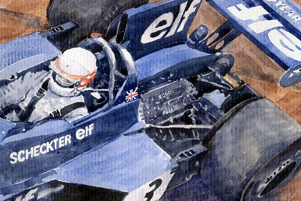 Tyrrell Ford 007 Jody Scheckter 1974 Swedish GP