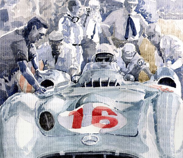 1955 Mercedes Benz W 196 STR Stirling Moss Italian GP Monza