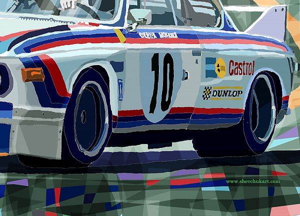 BMW 3 0 CSL 1st SPA 24hrs 1973 Quester Hezemans