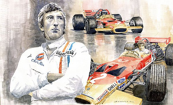 Karl Jochen Rindt Golden Leaf Team Lotus Lotus 49b Lotus 49c