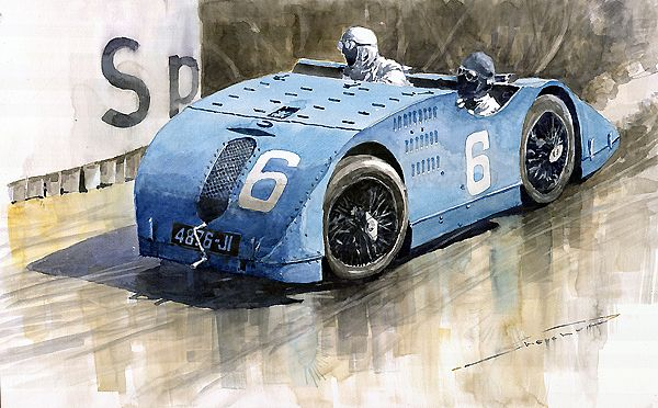 Bugatti Type 32 Tank 1923 French Gp