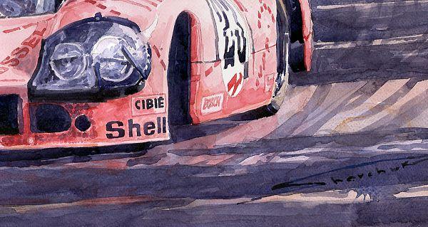 Gallery Of Artist Yuriy Shevchuk Porsche 917 20 Pink Pig