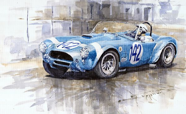 Phil Hill Targa Florio 1964 289 AC Cobra-Ford