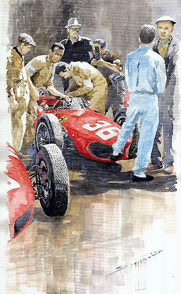 1961 Monaco GP Ferrari 156 Sharknose Richie Ginther