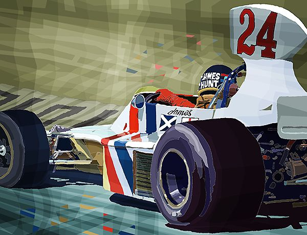 1975 James Hunt Hesketh 308B