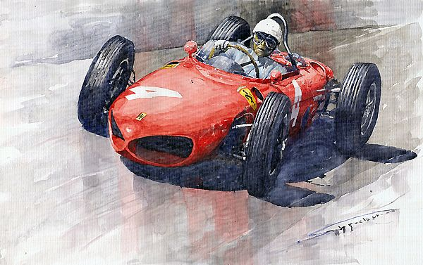 1961 Germany GP Ferrari 156 Phil Hill