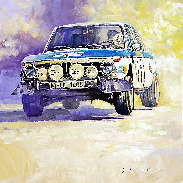 1973 Rallye of Portugal BMW 2002 Warmbold Davenport