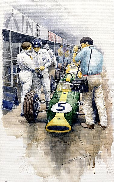 1967 Lotus 49T Ford Coswoorth Jim Clark Graham Hill