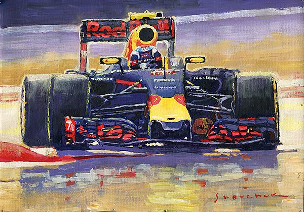 2016 F1 Spain GP Max Verstappen Red Bull-Renault winner.