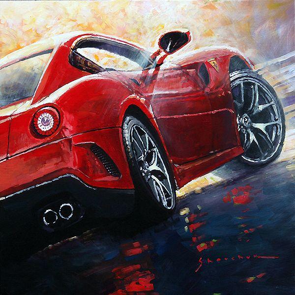 Gallery Of Artist Yuriy Shevchuk: 2015 Ferrari 599 GTB Fiorano