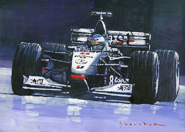 1998 McLaren MP4-13 Mika Hakkinen World Champion