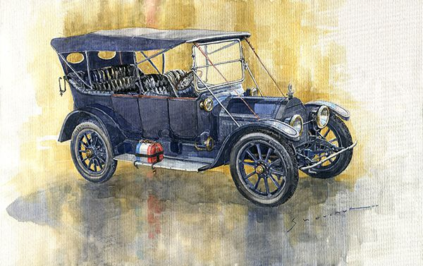 1913 Cadillac Four 30 Touring